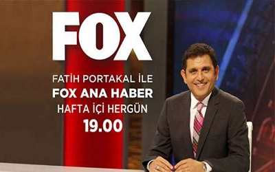 Fatih Portakal ile FOX Ana Haber İletişim WhatsApp Telefon Numarası