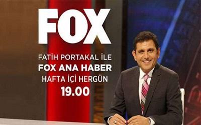 Fatih Portakal ile FOX Ana Haber İletişim WhatsApp Telefon Numarası