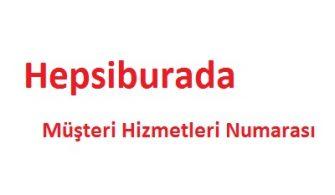 Hepsiburada Çağrı Merkezi İletişim Müşteri Hizmetleri Telefon Numarası